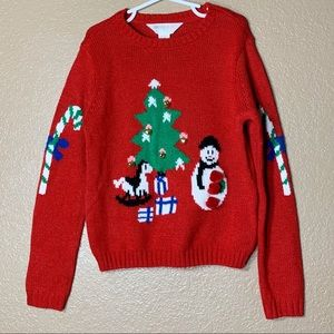 Forever 21 girls ugly Christmas sweater